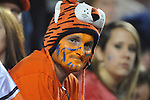An Auburn fan at Jordan-Hare Stadium in Auburn, Ala. on Saturday, October 29, 2011. .
