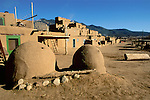 Main Plaza, Taos Indian Pueblo, Taos, New Mexico.