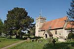 Bucklebury Berkshire UK. Church of St Mary the Virgin.  Kate Middleton family village.