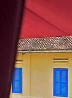 Colonial Buildings in Battambang, Cambodia