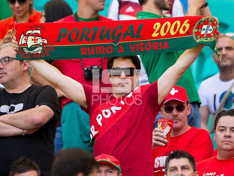 Portugal fans