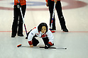 Satsuki Fujisawa (JPN),.JANUARY 25, 2012 - Curling :.2012 Karuizawa International Curling Championship Women's 1st Game between South Korea 9-5 Japan at SCAP Karuizawa in Nagano, Japan. (Photo by Hitoshi Mochizuki/AFLO)