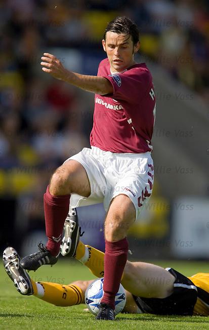 Paul Hartley, Hearts.stock season 2005-2006.pic willie vass