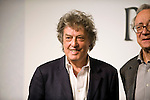 British playwright Tom Stoppard attends a media event formally announcing the winners of this year's Praemium Imperiale, a global arts prize that is awarded annually, in Tokyo, Japan on Wed., Oct. 21 2009. Other winners included Britions sculptor Richard Long and architect Zaha Hadid..Photographer: Robert Gilhooly