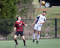 The Winthrop University Eagles played the UNC Wilmington Seahawks in The Manchester Cup on April 5, 2014.  The Seahawks won 1-0.  Mark Harris (17), James Skonicki (23)