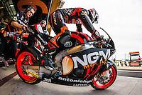NGM Team pilot Yuki Takahashi starting qualifying