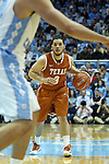 18 December 2013: Texas' Javan Felix. The University of North Carolina Tar Heels played the University of Texas Longhorns at the Dean E. Smith Center in Chapel Hill, North Carolina in a 2013-14 NCAA Division I Men's Basketball game. Texas won the game 86-83.