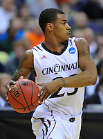 Sean Kilpatrick of the Bearcats looks for a teammate to pass the ball. Cincinnati defeated Missouri 78-63 during the NCAA tournament at the Verizon Center in Washington, D.C. on Thursday, March 17, 2011. Alan P. Santos/DC Sports Box