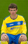 St Johnstone FC...Season 2011-12.Craig Thomson.Picture by Graeme Hart..Copyright Perthshire Picture Agency.Tel: 01738 623350  Mobile: 07990 594431