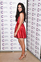 Jessica Cunningham arriving at James Ingham&rsquo;s Jog On to Cancer, in aid of Cancer Research UK at The Roof Gardens in Kensington, London.  <br /> 12 April  2017<br /> Picture: Steve Vas/Featureflash/SilverHub 0208 004 5359 sales@silverhubmedia.com