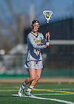 30 March 2016: University of Vermont Catamount Attacker Alex Bernier, a Junior from Falmouth, Maine, in second half action against the Manhattan College Jaspers at Virtue Field in Burlington, Vermont. The Lady Cats defeated the Jaspers 11-5 in non-conference play. Mandatory Credit: Ed Wolfstein Photo *** RAW (NEF) Image File Available ***