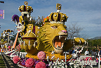 "Rose Parade Floats Tournament Special Trophy - 2008, ""The Magic of Mardi Gras"" FTD Tournament Volunteers' Trophy - 2008, ""Festival of Flowers"""