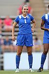 22 August 2014: Duke's Casey Martinez. The Duke University Blue Devils played The Ohio State University Buckeyes at Fetzer Field in Chapel Hill, NC in a 2014 NCAA Division I Women's Soccer match. Ohio State won the game 1-0.