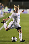 07 November 2008: North Carolina's Meghan Klingenberg assists on the first goal. The University of North Carolina Tarheels defeated Boston College Eagles 2-0  at WakeMed Stadium at WakeMed Soccer Park in Cary, NC in a women's ACC tournament semifinal game.