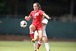 01 September 2013: New Mexico's Alyssa Coonrod. The Duke University Blue Devils played the University of New Mexico Lobos at Fetzer Field in Chapel Hill, NC in a 2013 NCAA Division I Women's Soccer match. Duke won the game 1-0.