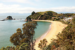 New Zealand South Island, view just south of Kaiteriteri Beach in Abel Tasman National Park. Photo copyright Lee Foster.