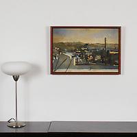 """Sanchez: East LA, Digital Print, Image Dims. 15"""" x 23"""", Framed Dims. 17"""" x 25"""""""