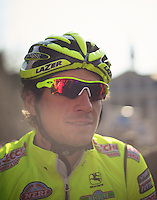 Dwars door Vlaanderen 2012.Filippo 'Pippo' Pozzato at the start