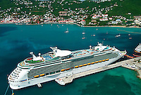 Cruise Ships at the West Indian Company Dock <br />