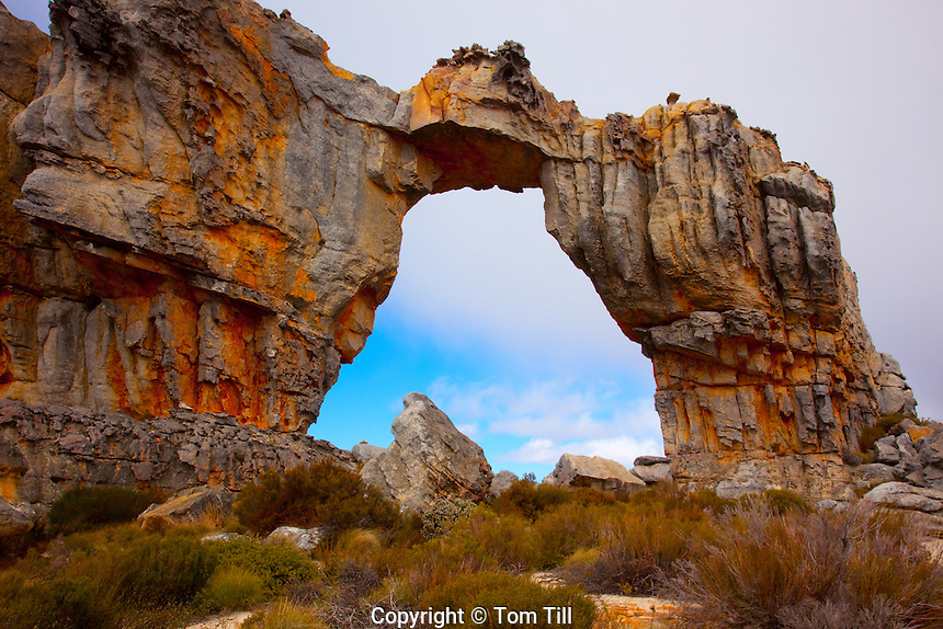Wolfberg Arch Cederberg Wilderness, South Africa  UNESCO World Heritage   Site    Huge Natural arch at top of Range  Northern Cape Area