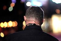 A plain clothed police officer on a night time patrol in Oslo.<br /> <br /> <br /> Stig Gaustad fra Sentrum Politistasjons etteretningsavdeling f&oslash;lger med p&aring; utelivet i Oslo sentrum. . (Foto:Fredrik Naumann/Felix Features)