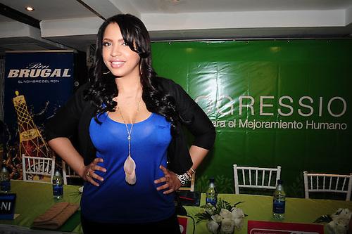 Mambera Juliana al bordo de un ataque por susto en Expo Cibao