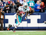 29 November 2009: Miami Dolphins' wide receiver Ted Ginn Jr. in action during a game against the Buffalo Bills at Ralph Wilson Stadium in Orchard Park, New York. The Bills defeated the Dolphins 31-14. Mandatory Credit: Ed Wolfstein Photo