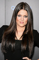 KHLOE KARDASHIAN .At SWAGG VIP Kid Rock Concert at the Joint inside the Hard Rock Hotel and Casino, Las Vegas, Nevada, USA,.7th January 2010..portrait headshot black make-up eye contact  .CAP/ADM/MJT.© MJT/AdMedia/Capital Pictures.