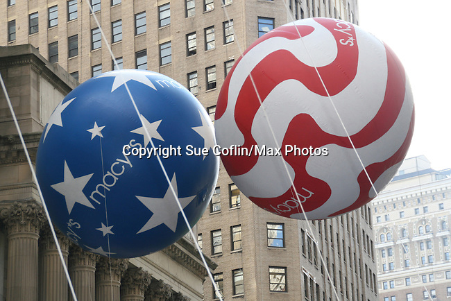 at the Macy's Thanksgiving Day Parade on November 27, 2008 in New York City, NY. (Photo by Sue Coflin/Max Photos)