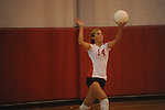Oxford High vs. Lafayette High in high school volleyball action in Oxford, Miss. on Thursday, September 29, 2011.