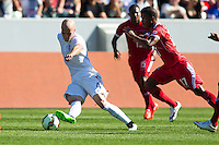 Carson, CA - Sunday, February 8, 2015 Michael Bradley (4) of the USMNT. The USMNT defeated Panama 2-0 during an international friendly at the StubHub Center.