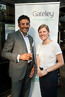 Dharmesh Dattani of HSBC Bank with Megan Chadwick of Gateley