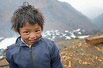 Bimala Tamang, a 6-year old girl, lives in Gatlang, in the Rasuwa District of Nepal. <br /> <br /> Parental consent obtained.