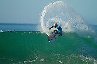 "Adam Melling (AUS) JEFFREYS BAY, South Africa (Sunday, July 18, 2010) - Jordy Smith (ZAF), 22, has claimed his maiden ASP elite victory, taking out the Billabong Pro Jeffreys Bay over Adam Melling (AUS), 25, in front of a capacity hometown crowd..Event No. 4 of 10 on the 2010 ASP World Tour, the Billabong Pro Jeffreys Bay was nothing but blaring Vuvuzelas and roars from the bluff as these two titans went tit-for-tat in an incredible Final exchange. The young South African proved the victor, dominating from the outset and securing an emotional first win..""This is the best day of my life,"" Smith said. ""The crowd on the beach has been supporting me the last few days and hearing the cheers and the Vuvuzelas just gets me fired up to perform. It feels like they're pushing me along. I couldn't have done it without them."".The most experienced surfer at Jeffreys Bay, Smith left very little to chance in the Final against Melling, opening his account with a blazing 8.90 before backing it up with some scintillating forehand surfing for a 9.03. The combination of scores (17.93 out of a possible 20) proved insurmountable for Melling.  Photo: joliphotos.com"
