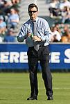 08 November 2009: UNC head coach Anson Dorrance. The University of North Carolina Tar Heels defeated the Florida State University Seminoles 3-0 at WakeMed Stadium in Cary, North Carolina in the Atlantic Coast Conference Women's Soccer Tournament Championship game.
