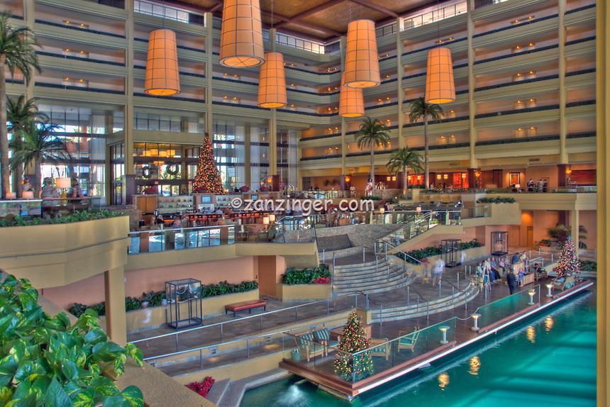 JW Marriott, Desert Springs Hotel Resort, Palm Desert CA, near Palm Springs CA, HDR