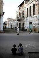 Daily life in the coastal town of Massawa, Eritrea, Saturday, Apr. 28, 2007. Massawa suffered blanket bombings by Ethiopians during the Struggle for Independence. .