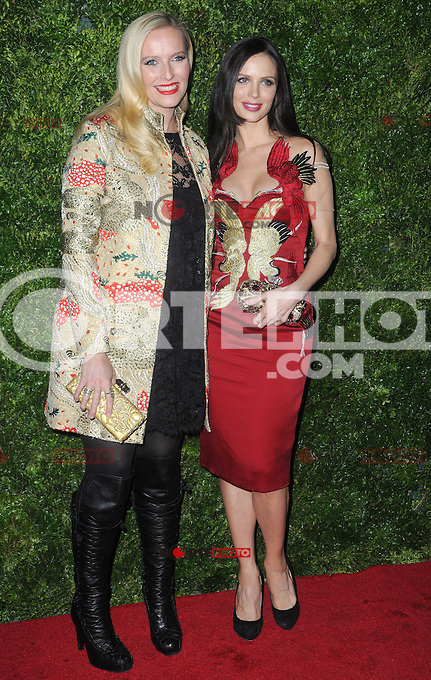 "New York, NY- December 4, 2012: Keren Craig and Georgina Chapman attends the HBO and Vogue Screening ""In Vogue: The Editor's Eye"" at the Metropolitan Museum of Art on December 4, 2012 in New York City. (C) Joe Stevens / Mediapunch ©/NortePhoto /NortePhoto© /NortePhoto /NortePhoto"