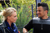 JUNE 17 2013 Peter Andre and Karen Millen