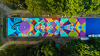 Mural Arts Program - Summer Kaleidoscope