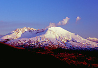 Steam Eruption, Mt. St. Helens, Mt. St. Helens National Volcanic Monument, Washington, US