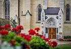 Aug. 11, 2014; Basilica of the Sacred Heart East door.<br /> <br /> Photo by Matt Cashore/University of Notre Dame