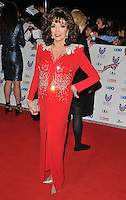 Dame Joan Collins at the Pride of Britain Awards 2016, Grosvenor House Hotel, Park Lane, London, England, UK, on Monday 31 October 2016. <br /> CAP/CAN<br /> &copy;CAN/Capital Pictures /MediaPunch ***NORTH AND SOUTH AMERICAS ONLY***