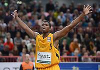 Basketball 1. Bundesliga  2012/2013  Walter Tigers Tuebingen - Brose Baskets Bamberg       25.11.2012 Cameron Wells (Tigers)