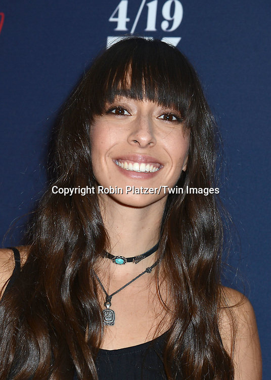 Oona Chaplin of Taboo attends FX's 2017 All-Star Upfront on  April 6, 2017 at SVA Theater in New York, New York, USA. <br /> <br /> photo by Robin Platzer/Twin Images<br />  <br /> phone number 212-935-0770