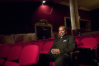 13 February 2006 - New York City, NY - Tour Director and Group Sales Manager, Billy Mitchell, poses at the Apollo theater in Harlem, New York City, USA, 13 February 2006. The famous theater, home of the Amateur Nights at The Apollo, is reopening with a renovated facade and new seats.