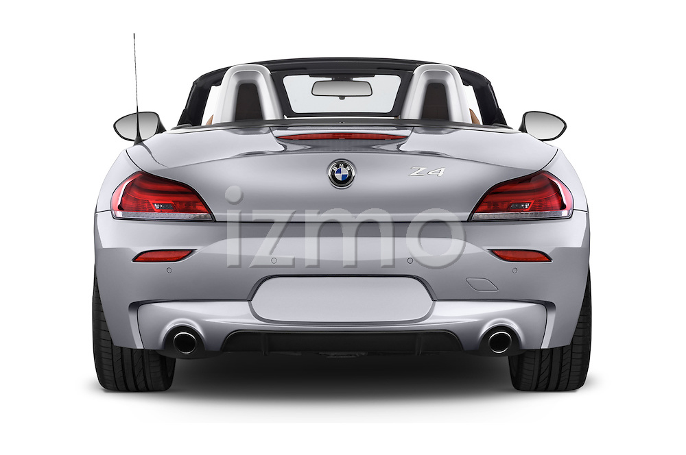 2014 bmw z4 sdrive35i lounge 2 door convertible 2wd rear view stock images izmostock. Black Bedroom Furniture Sets. Home Design Ideas