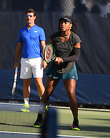 FLUSHING NY- AUGUST 30: Serena Williams on the practice court at the USTA Billie Jean King National Tennis Center on August 30, 2016 in Flushing, Queens. Credit: mpi04/MediaPunch
