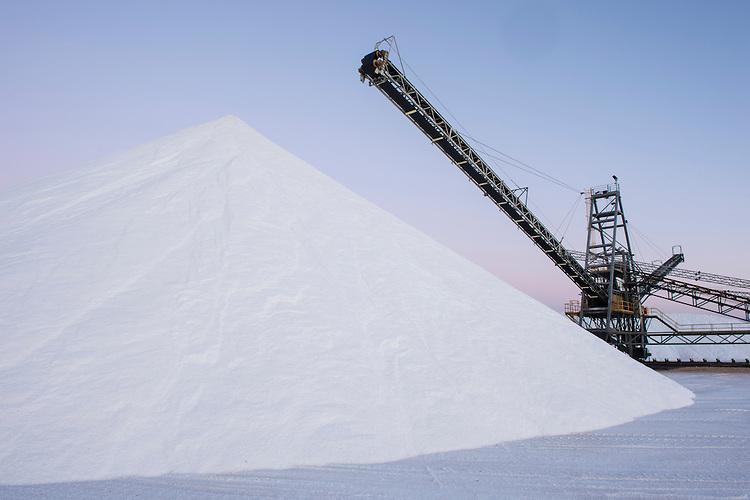 Shark Bay Salt Pty Ltd wa Salt Farming at Shark Bay Salt