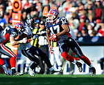 1 November 2009: Buffalo Bills' wide receiver Justin Jenkins scrambles for yardage in the third quarter against the Houston Texans at Ralph Wilson Stadium in Orchard Park, New York, USA. The Texans defeated the Bills 31-10. Mandatory Credit: Ed Wolfstein Photo